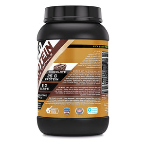 Amazing Muscle Hydrolyzed Whey Protein Isolate with Natural Flavor & Banana Flavor
