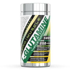 Amazing Muscle L Glutamine 500 Mg 250 Capsules