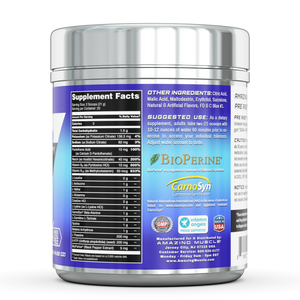 PRE-RISE | Advanced Pre-Workout Formula - 20 servings | Amazing Muscle