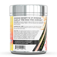 Amazing Muscle Pre Rise - Advanced Pre-Workout Formula - 20 Servings Watermelon