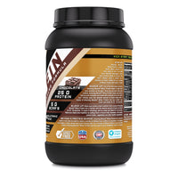 Amazing Muscle Whey Protein Isolate & Concentrate 2 Lbs Banana Flavor