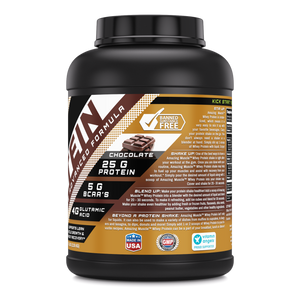 Amazing Muscle Whey Protein (Isolate & Concentrate) - 5 Lb