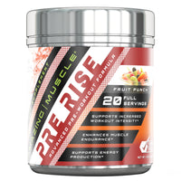 Amazing Muscle - Pre Rise Advanced Pre-Workout Formula - 20 servings