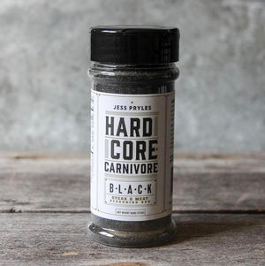 Hardcore Carnivore Black : Steak Seasoning Rub