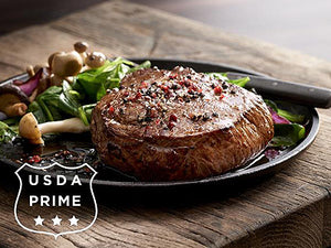 USDA PRIME 8 oz Sirloin Baseball Cut