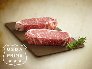 USDA Prime 14 oz Center Cut NY Strip Steak
