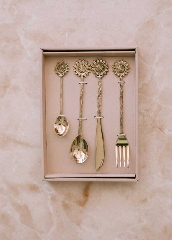 Sunflower Cutlery Set