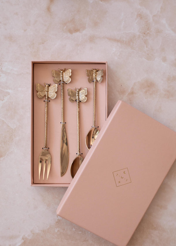 Butterfly Cutlery Set