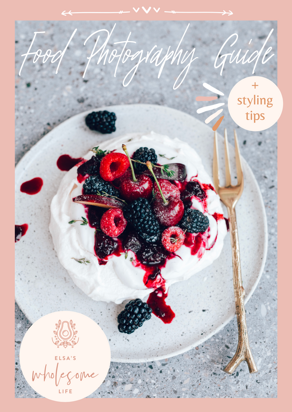 Food Photography and Styling Guide