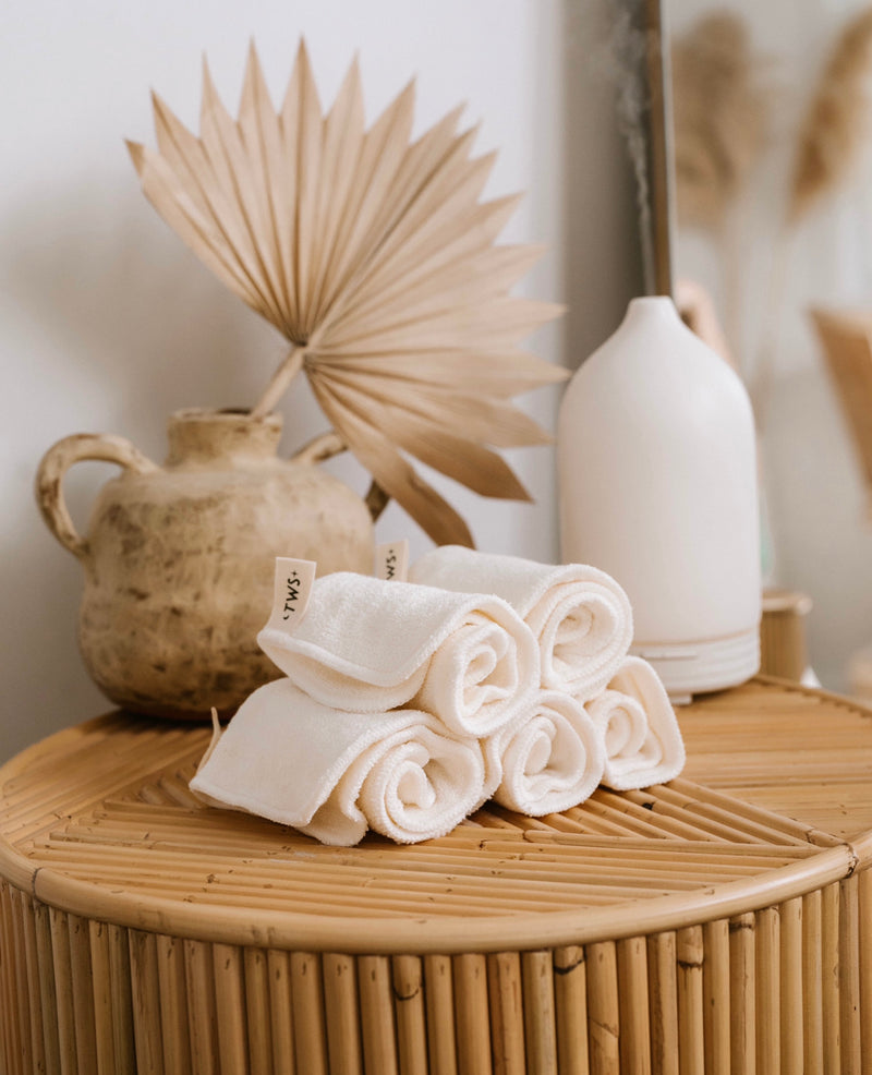 Bamboo Reusable Wash Cloths