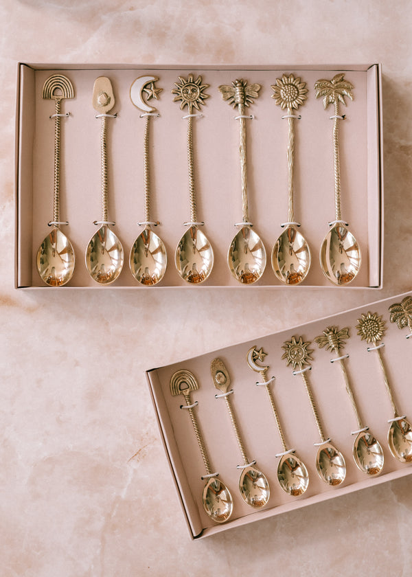 7PC DESSERT SPOON COLLECTION