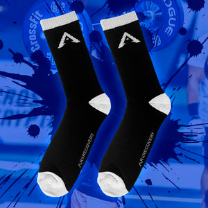 RX Recovery Mens Athletic Performance Crew Sock 8-13
