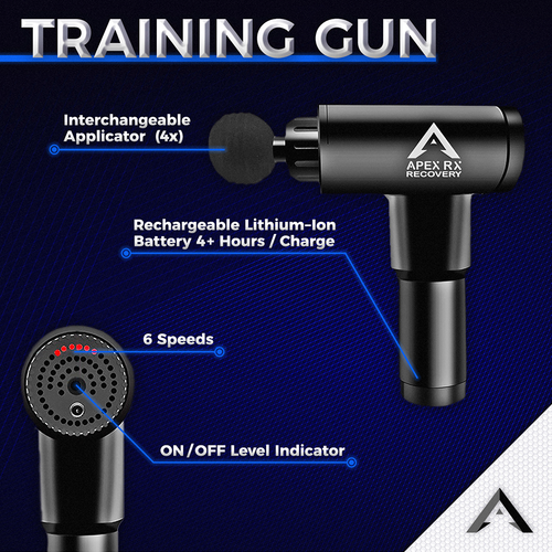Apex RX Recovery Massage Gun Training Model