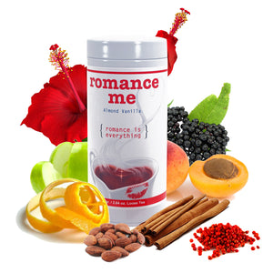 Romance ME Fruit Tea 75 Gram Tin - Distinctly Tea Inc.