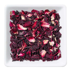 Hibiscus Flower Herbal Tea Organic - Distinctly Tea Inc.