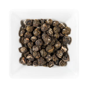 Jasmine Phoenix Pearls Organic Green Tea - Distinctly Tea Inc.