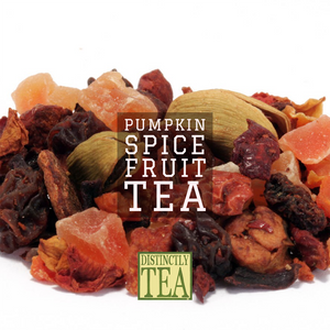 Pumpkin Spice Fruit Tea - Distinctly Tea Inc.
