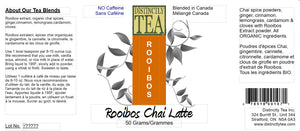 Rooibos Chai Latte Mix 50 Gram Tin - Distinctly Tea Inc.