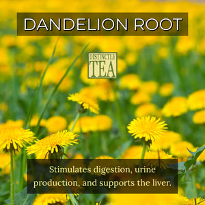 Dandelion Root Tea Organic - Distinctly Tea Inc.