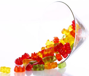 Fruit Juice Gummy Bears 500G - Distinctly Tea Inc.