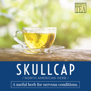 Skullcap Herbal Tea Organic - Distinctly Tea Inc.