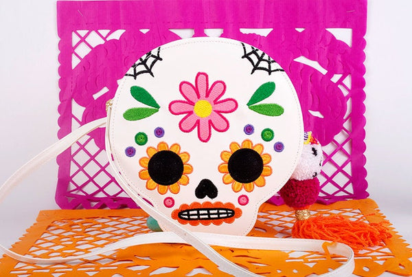 sugar skull bag calaverita bag