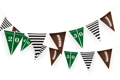 FREE Football Sports Printable Banner - Your Main Event