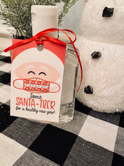 FREE Santa-Tizer Printable Hand Sanitizer Easy Christmas Gift Idea - Your Main Event