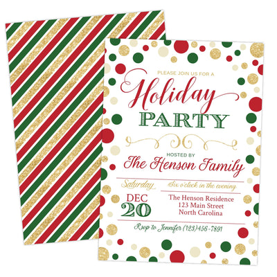 Holiday Party Invitation Printable