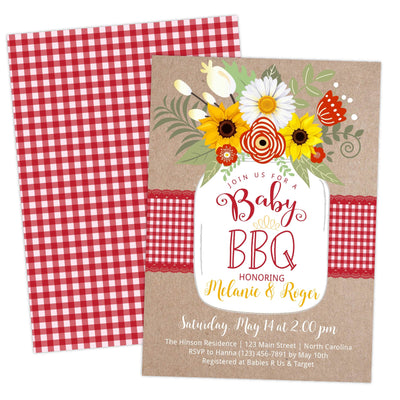 BabyQ BBQ Baby Shower Invitation - Your Main Event