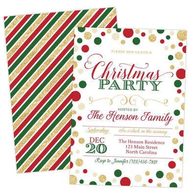 Christmas Party Invitation Printable - Your Main Event