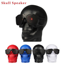 Load image into Gallery viewer, Skull Shape Wireless Bluetooth Speaker Sunglasses - unique innovation pro