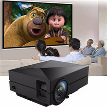 Load image into Gallery viewer, New Portable MINI LED Projector For Video Games TV Movie SD FULL HD Home AND OUTDOOR Theater - unique innovation pro