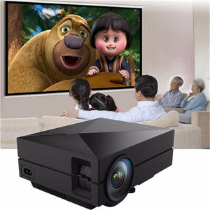 New Portable MINI LED Projector For Video Games TV Movie SD FULL HD Home AND OUTDOOR Theater - unique innovation pro