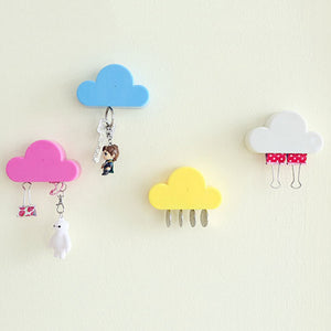 Cloud Shape Magnetic  Wall Key Holder - unique innovation pro