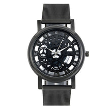 Load image into Gallery viewer, Stainless Steel Mesh Skeleton Automatic Watch - unique innovation pro