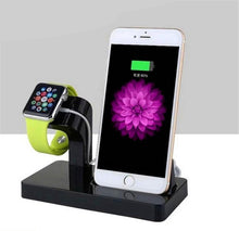 Load image into Gallery viewer, Desktop Charging Stand Cradle Phone Holder - unique innovation pro