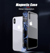 Load image into Gallery viewer, Metal Adsorption Magnetic Case For iPhone - unique innovation pro