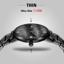 Load image into Gallery viewer, Men's Stainless Steel Military Quartz Water Proof Watch - unique innovation pro