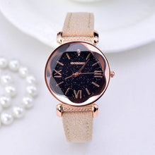 Load image into Gallery viewer, Rose Gold Women Leather Watches - unique innovation pro