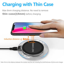 Load image into Gallery viewer, Ultra Thin And Fast Wireless Charger For Samsung Galaxy and iPhone - unique innovation pro