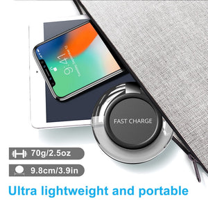 Ultra Thin And Fast Wireless Charger For Samsung Galaxy and iPhone - unique innovation pro