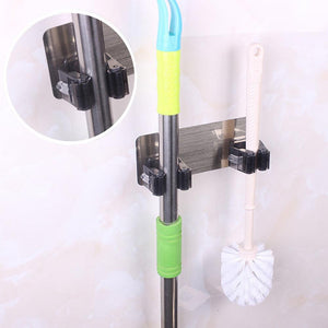 Wall Mounted Mop Organizer Holder - unique innovation pro