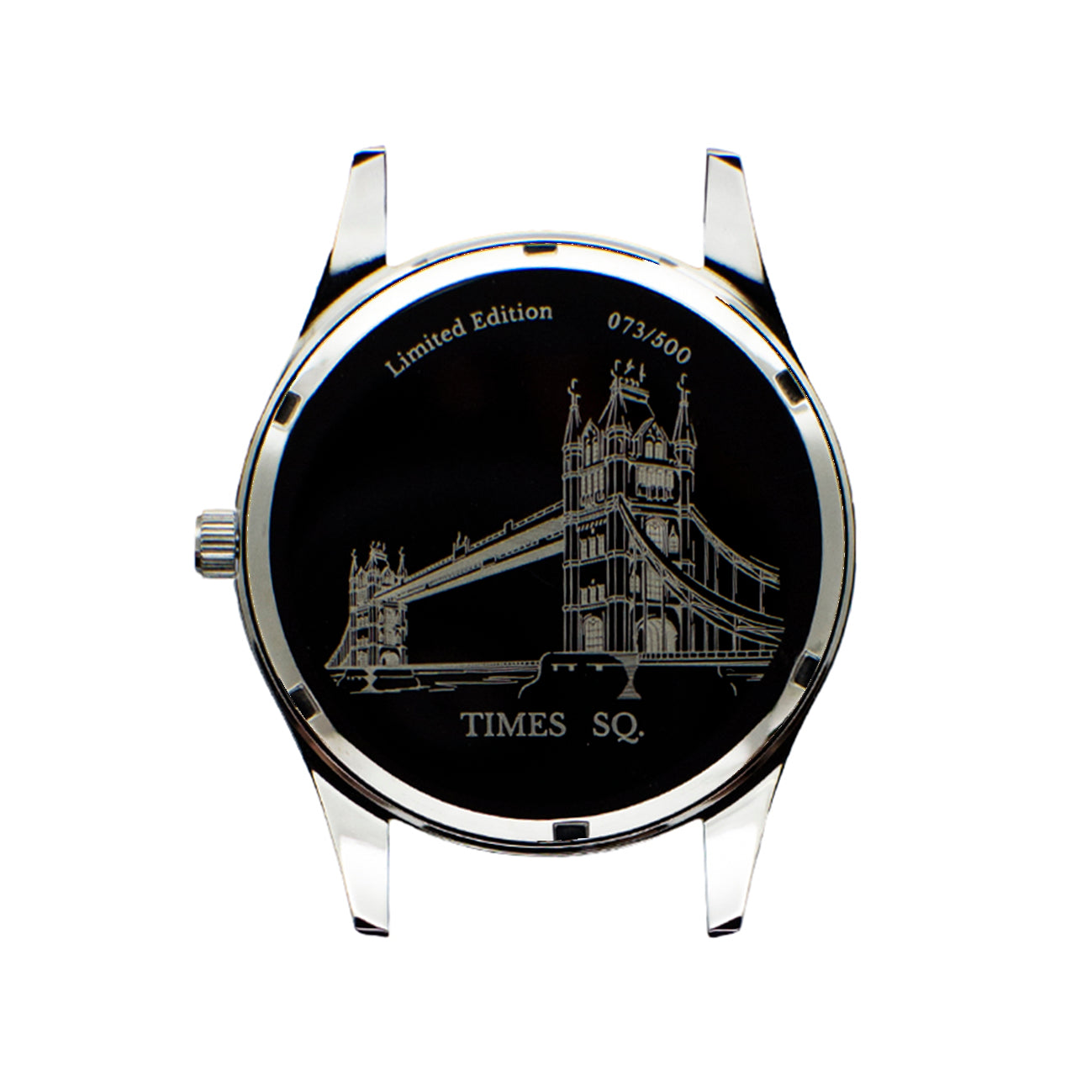 London Dress Watch - Silver Black