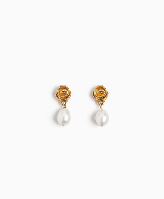 Rose is a Rose Earrings