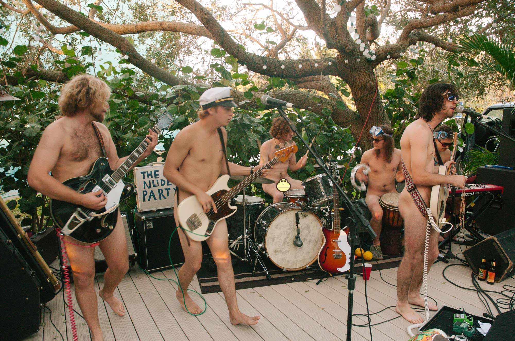Nude Party Sonnys Porch Concert 11