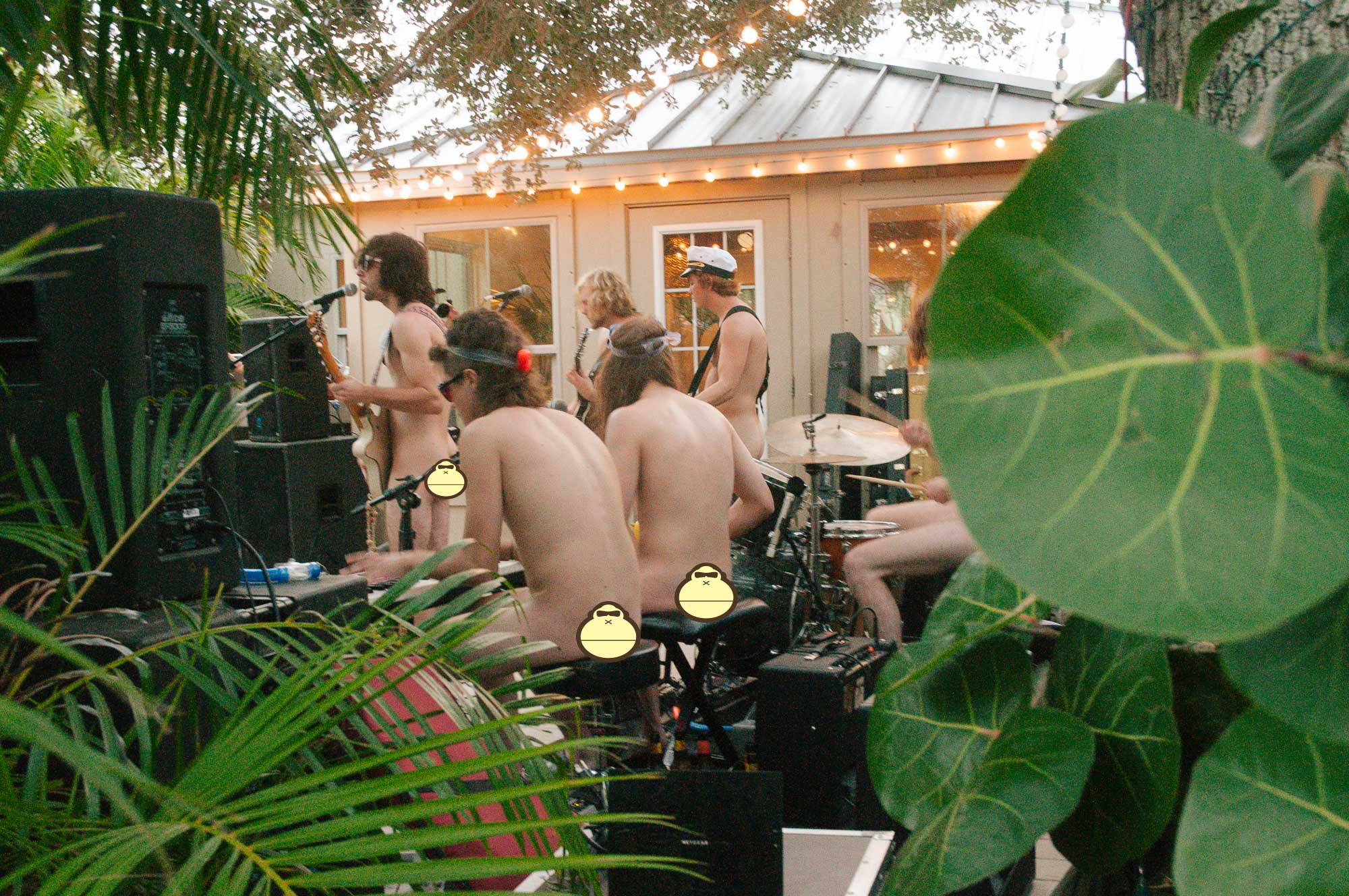 Nude Party Sonnys Porch Concert 14