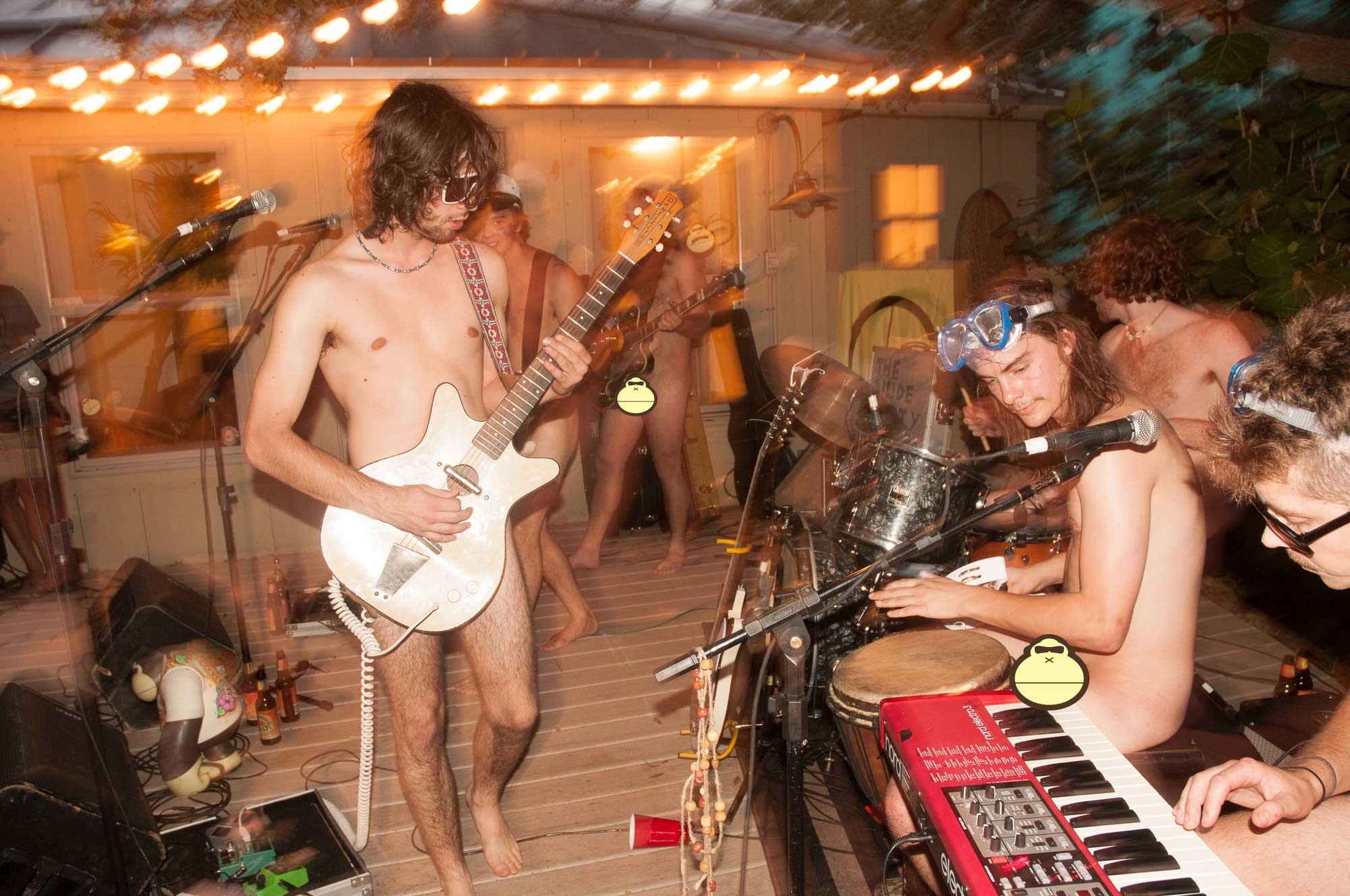 Nude Party Sonnys Porch Concert 15