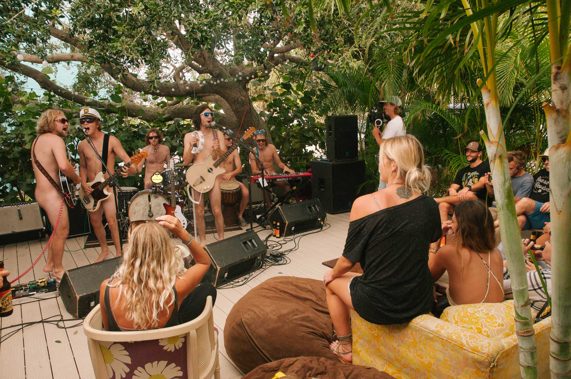 Nude Party Sonnys Porch Concert 4