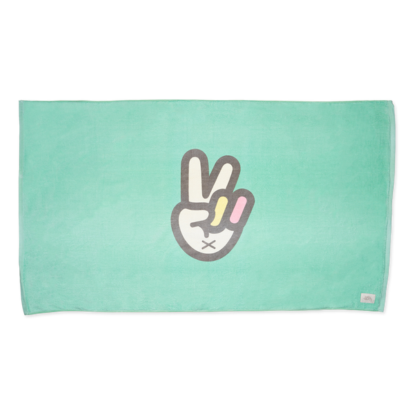 Baby Bum Peace Sign Beach Towel